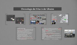 Chronologie der Krise in der Ukraine