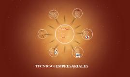 TECNICAS EMPRESARIALES