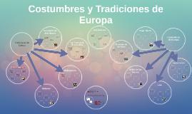 Costumbres y Tradiciones de Europa