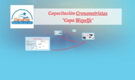 """Capacitación Cronometristas """"Copa Weyelfe"""""""