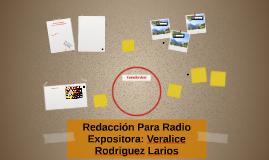 Redacción Para Radio