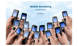 Mobile Marketing (additional points)