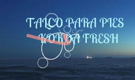 TALCO PARA PIES