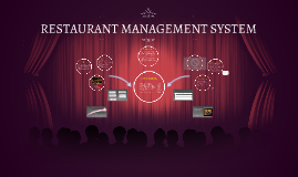 Copy of RESTAURANT MANAGEMENT SYSTEM