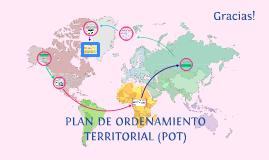PLAN DE ORDENAMIENTO TERRITORIAL (POT)