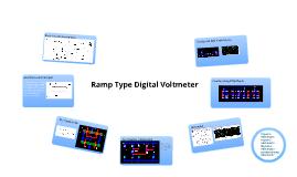 Ramp Type Digital Voltmeter