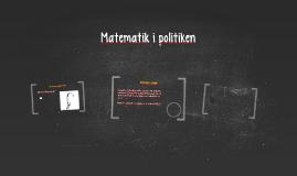 Matematik i politiken