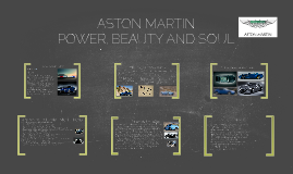 Copy of What is Aston Martin?