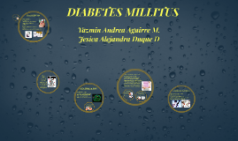 Copy of DIABETES MILLITUS