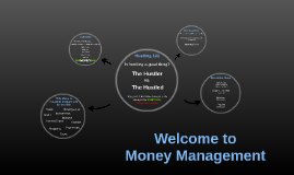 Welcome to Money Management