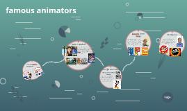 famous animator