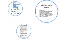 aplicaciones de google.