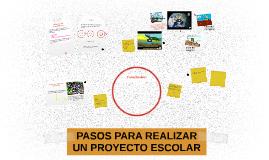 Copy of PASOS PARA REALIZAR UN PROYECTO ESCOLAR