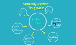 Appreciating Differences Through Colour: Authentic Blue