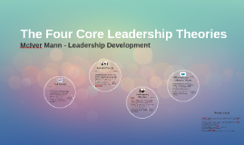 The Four Core Leadership Theories