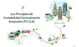 ¿Qué Son las PCGA?