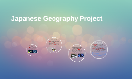 Japanese Geography Project