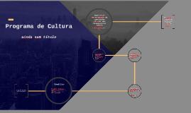 Programa de Cultura