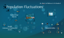 Population Fluctuations