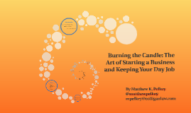 Burning the Candle: The Art of Starting a Business and Keepi