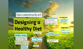 Designing a Healthy Diet (2)