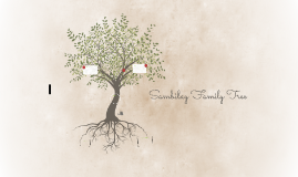 Sambilay Family Tree