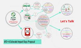 Colorado Impact Day Proposal