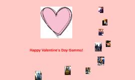 Happy Valentine's Day Gamma!