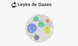 Leyes de Gases