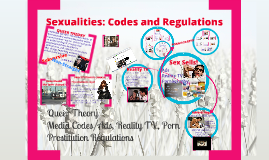 Sexualities: Codes and Regulations