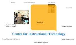 Center for Instructional Technology
