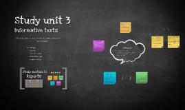Study Unit 3.1 Reports