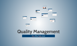 Copy of Quality Management