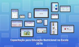 Capacitação para Educação Nutricional na Escola