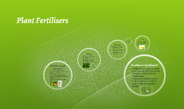 Plant Fertilisers