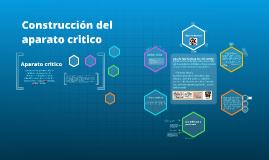 Copy of Copy of Construccion del aparato critico