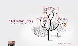 SFC CLP Talk 7: The Christian Family