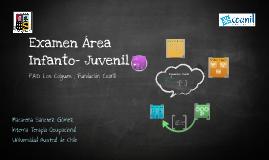 Examen Infanto- Juvenil
