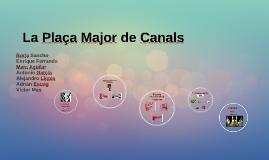 Plaça Major de Canals