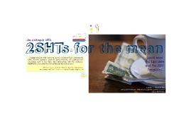 2SHT z-test example