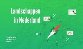 2KGT H2 P8 Landschappen in Nederland