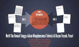 Motif Ibu Rumah Tangga dalam Mengkonsumsi Televisi di Dusun