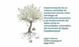 Optimización de Modelos de Producción Avícola en Pastoreo, M