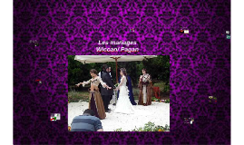 Les marriages Wiccan