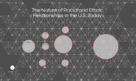The Nature of Racial and Ethnic Relationships in the U.S. To