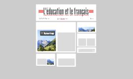 L'éducation française