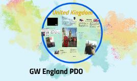 GW England PDO