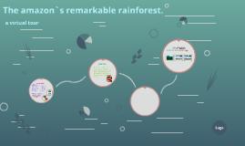 the amazon`s remarkable rainforest.