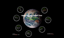 Copy of Using the CRAAP Test