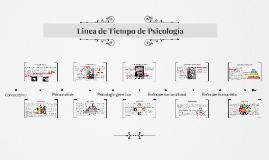 Linea de Tiempo de Psicologia